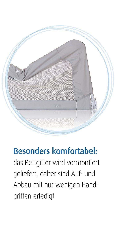 grau reer Bettgitter By My Side 150 x 50 cm