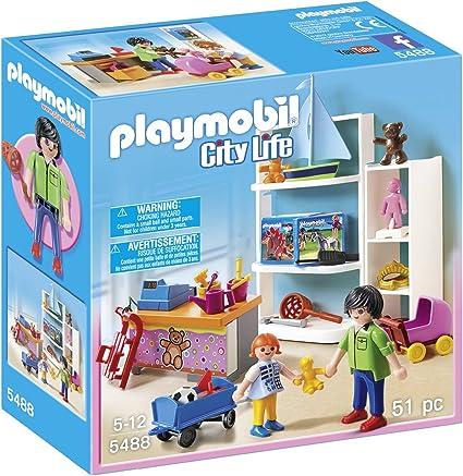 Amazon.com: Playmobil City Life, tienda de juguete Playset ...