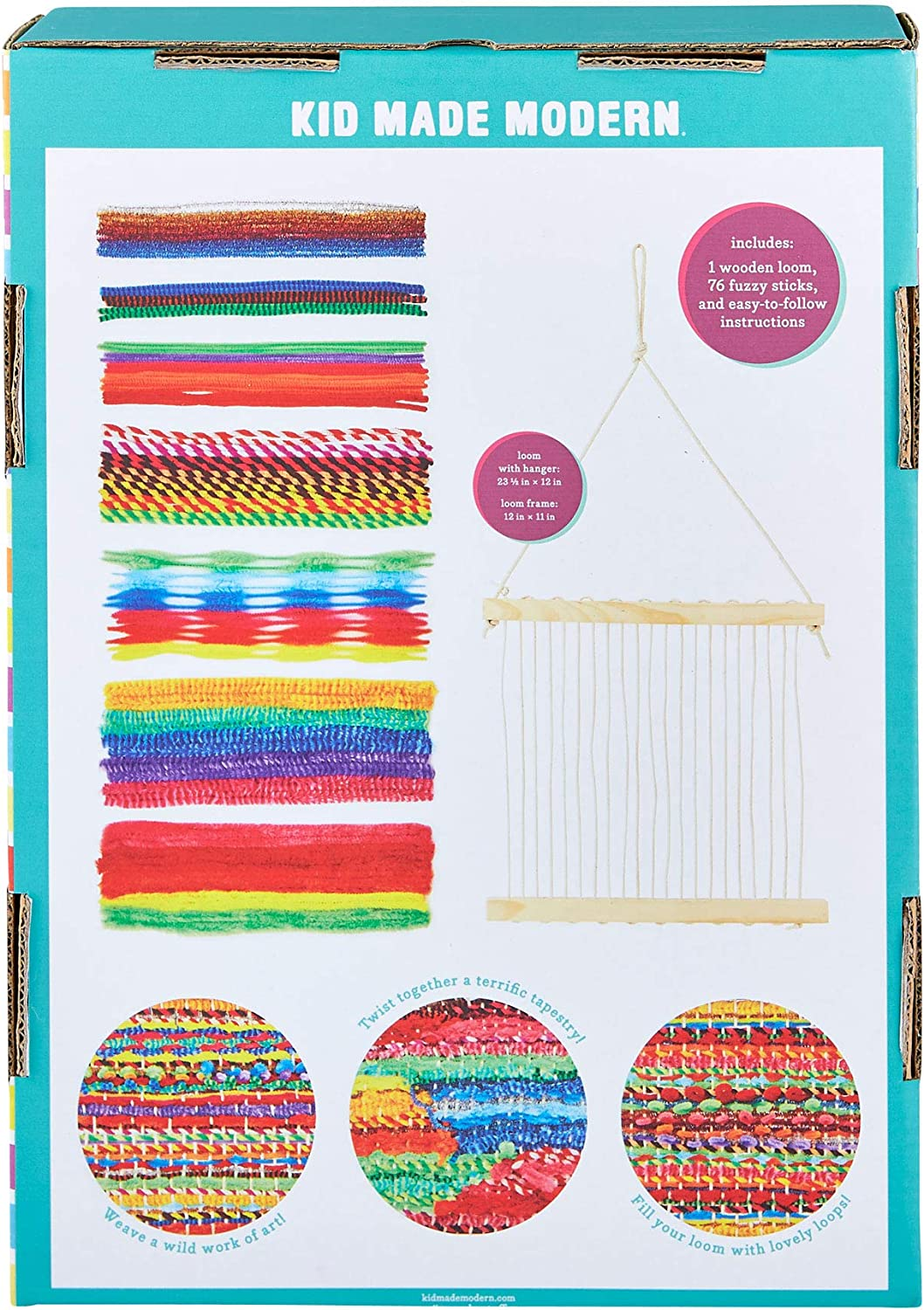Arts and Craft Toys Kid Made Modern Woven Wall Hanging Craft Kit Weaving for Kids