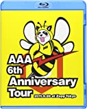 AAA 6th Anniversary Tour 2011.9.28 at Zepp Tokyo [Blu-ray]