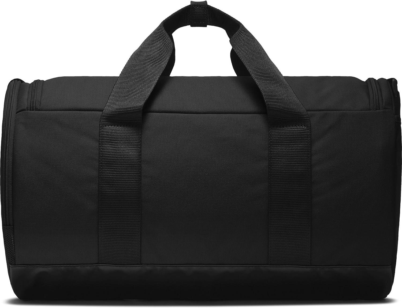NIKE Team Women's Training Duffel Bag, Black/Black/White, One Size : Clothing