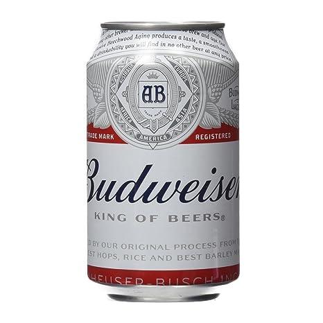 Budweiser - Cerveza - 330 ml