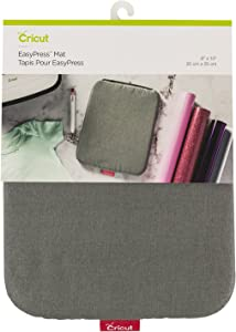 """Cricut EasyPress Mat, Protective Heat-Resistant Mat for Heat Press Machines and HTV and Iron On Projects, [8"""" x 10""""]"""