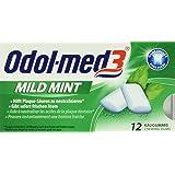 Odol-Med 3 Mildmint Gum Blister,6er Pack (6x 12 Stück)