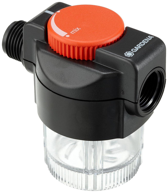 mit Frostschutz und Füllstandsanzeige Micro-Drip-System Düngerbeimischgerät