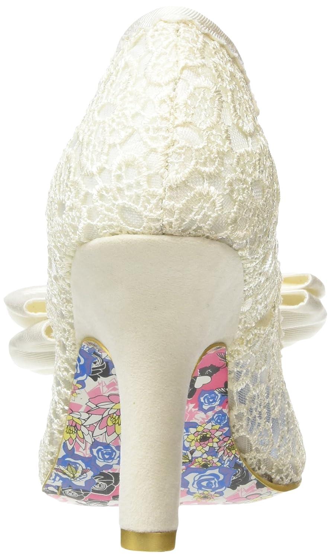 Irregular Choice Mal E Bow Damen Pumps Pumps Pumps Off Weiß (Cream) 638c24