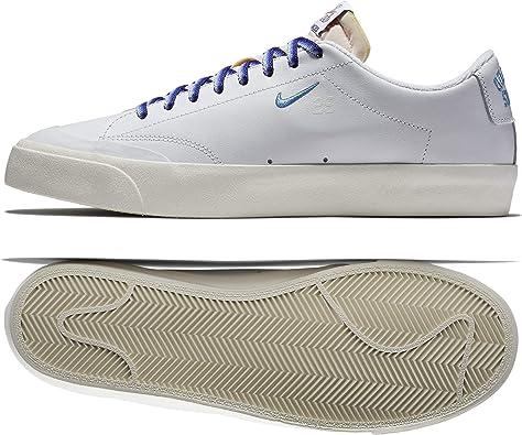 vela firma Sui  Nike SB x Quartersnacks Zoom Blazer Low XT QS White/Blue AQ3499-141 Men's  Shoes (12): Amazon.ca: Shoes & Handbags