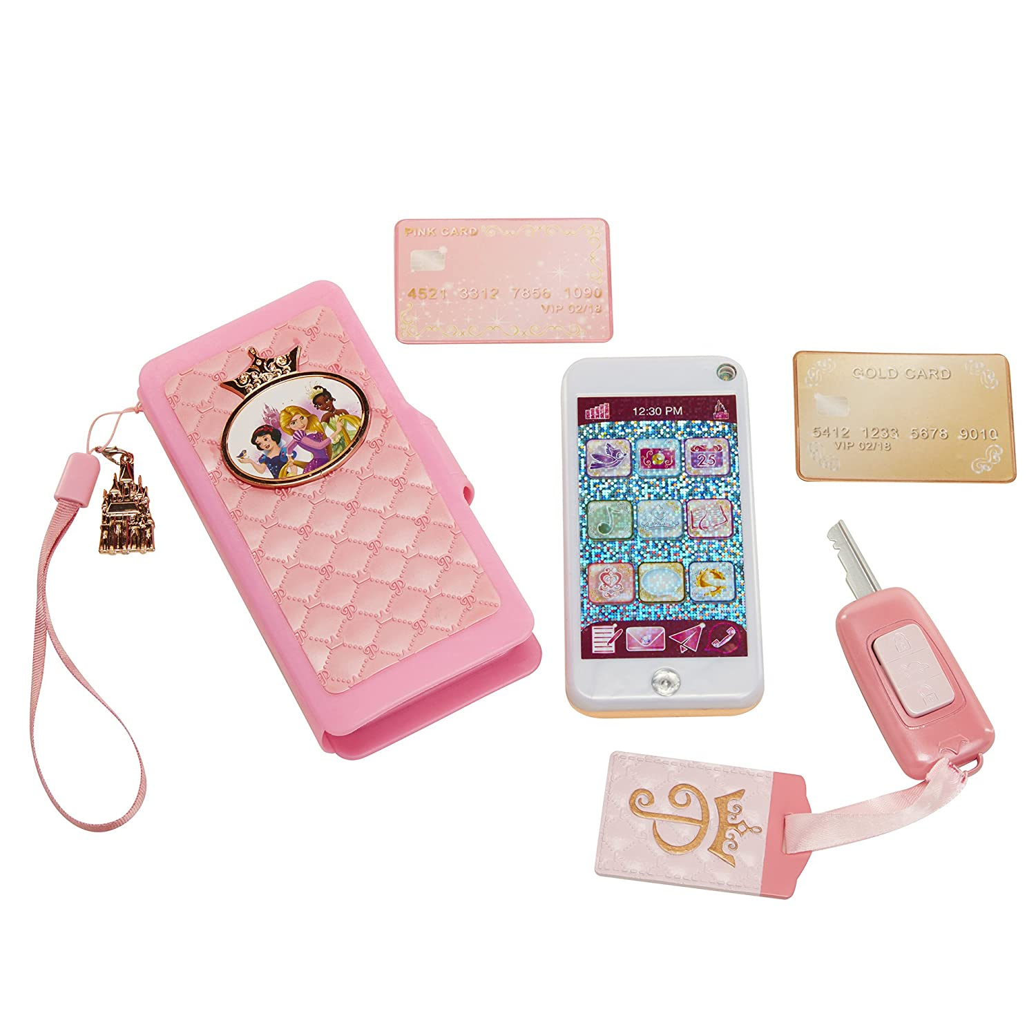 Disney Princes Style Collection Wristlet with Toy Smartphone