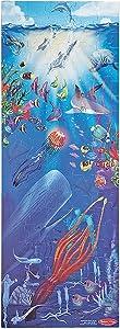 Melissa & Doug Under The Sea Jumbo Jigsaw Floor Puzzle (100 pieces, over 4 feet tall)