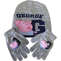 Conjunto de gorro y guantes de invierno para niños, 10 estilos de 3 a 8 años