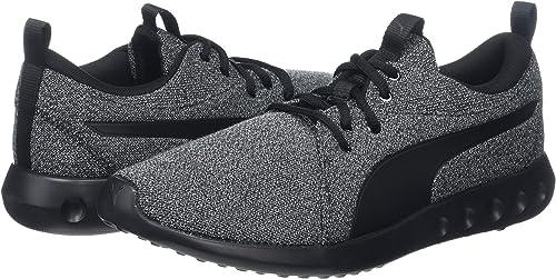 PUMA Carson 2 Knit NM, Running Homme, Noir Black Black 01