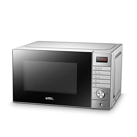 UMI Horno Microondas con grill de acero inoxidable 20L, XD-A 700W