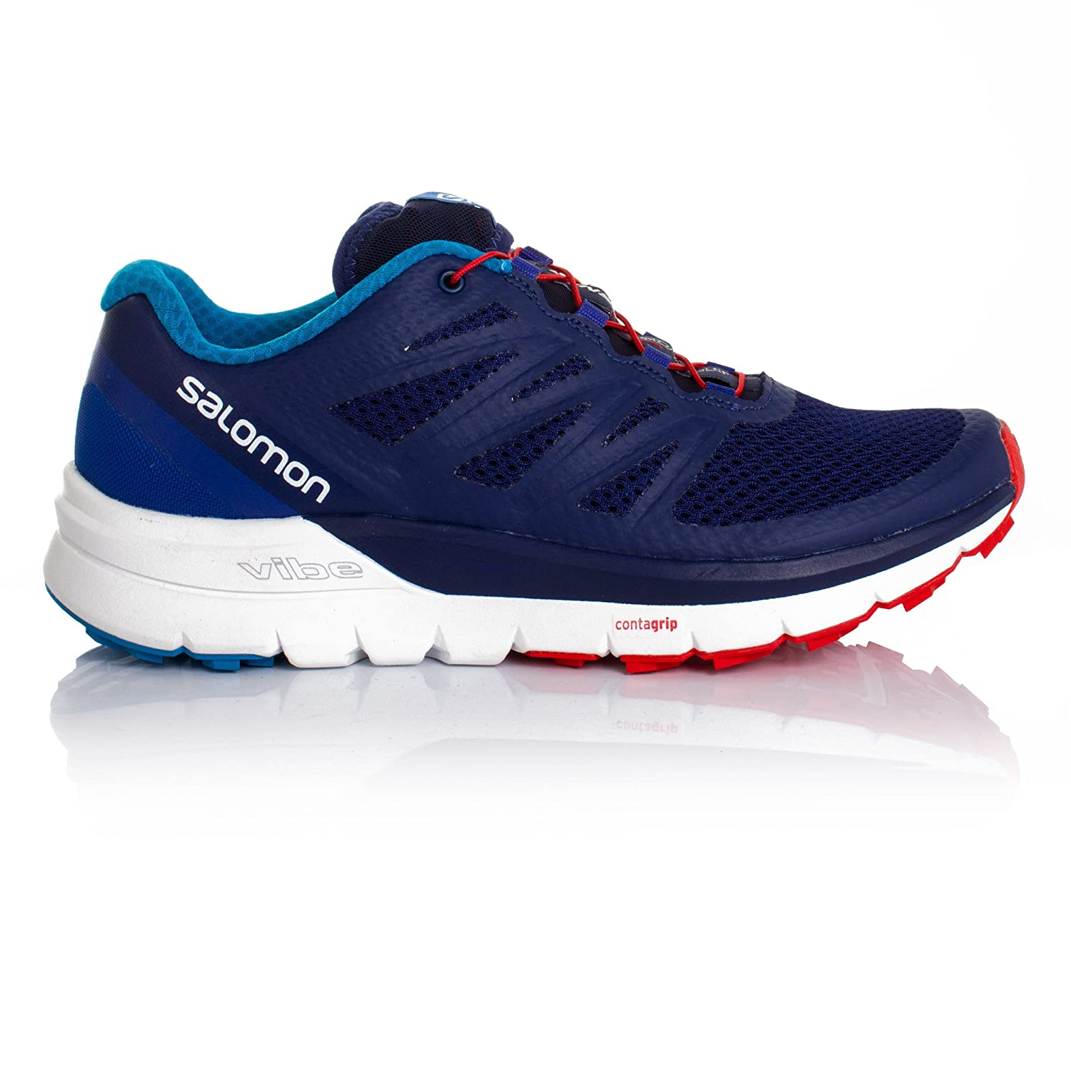 Salomon Sense Pro Max Trail Running Shoe Men's Blue Depths