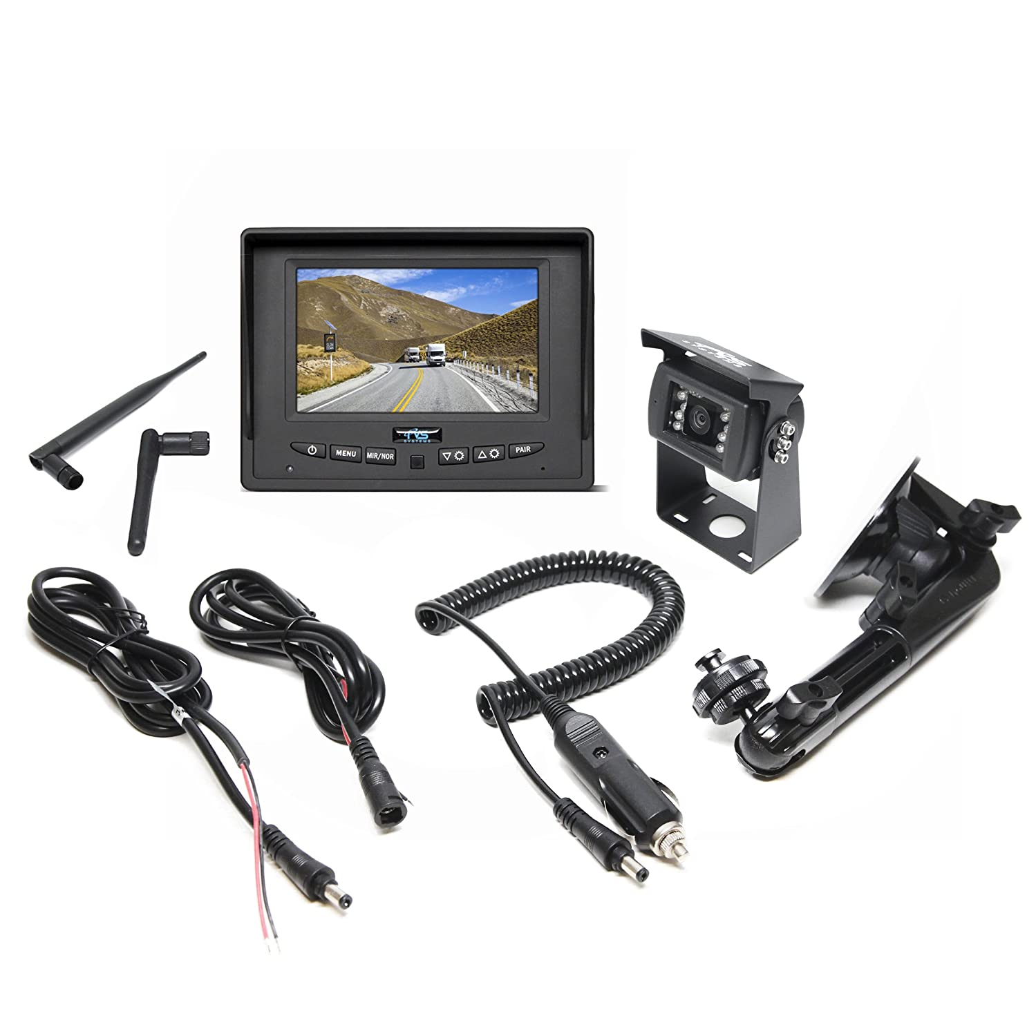 Amazon.com: Wireless Backup Camera System for RV, Truck, Bus ...