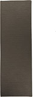 """product image for Colonial Mills Reversible Flat-Braid Runner Rug 2'4"""" x 5 Grey"""