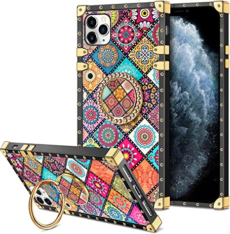 Coolden For Iphone 11 Pro Max Case Glitter Ring Stand Elektronik