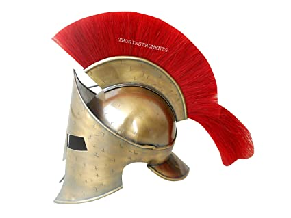 Co Collectibles Medieval Spartan casco romano, King 300 leónidas Armor LARP casco