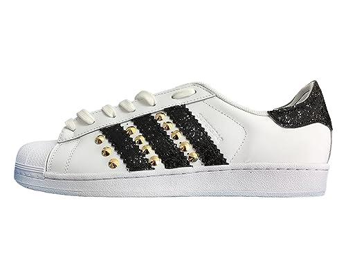 scarpe adidas donna superstar con glitter