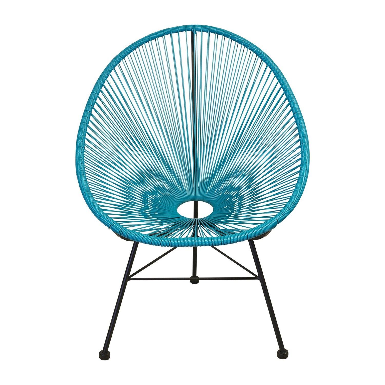 Take Me Home Furniture Acapulco Chair in Blue TMH-ACA-1350-BLUE