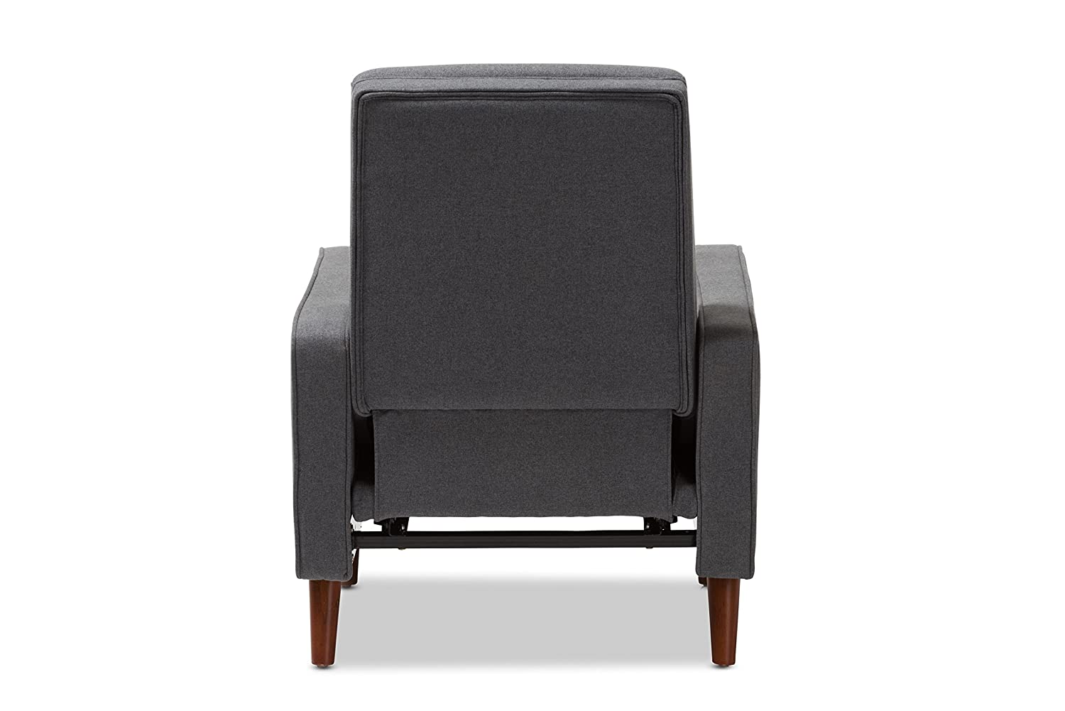 Grey Wholesale Interiors Baxton Studio 424-8136-AMZ Harlan Chair