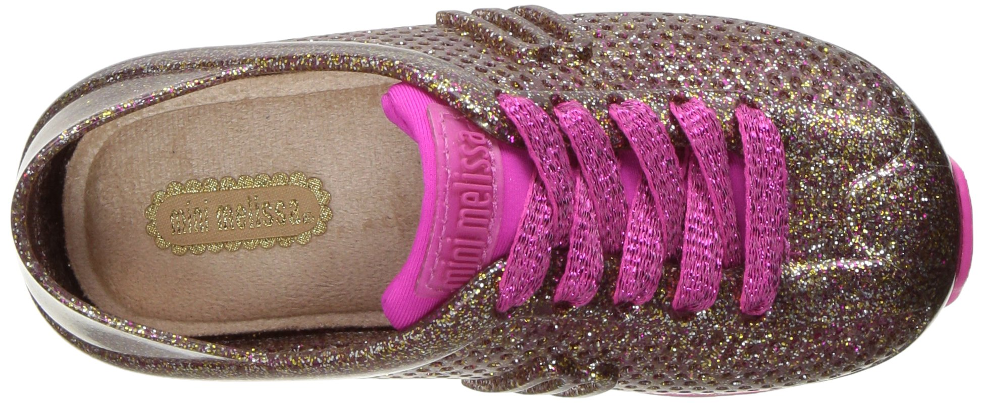 Mini Melissa Kids' Mini Love System Sneaker,Glass Pink Glitter,10 Regular US Toddler by Mini Melissa (Image #8)