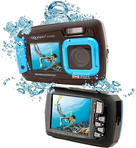 EasyPix W1400 Cámara Digital Activa 3m a Prueba de Agua, 14 Mpx ...