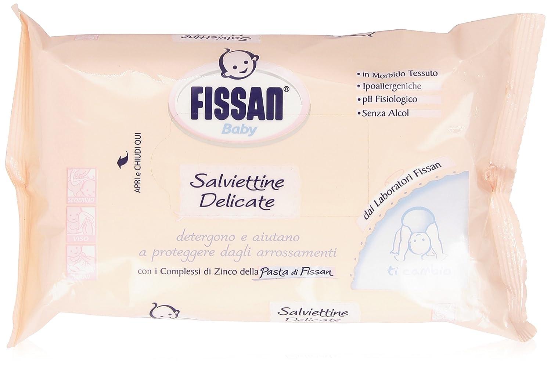 Fissan - Salviettine, Baby, Delicate - 72 pezzi 8004020935740