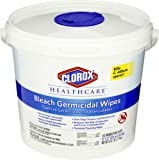 Clorox 30358 Healthcare Bleach Germicidal Wipe (110 Count)