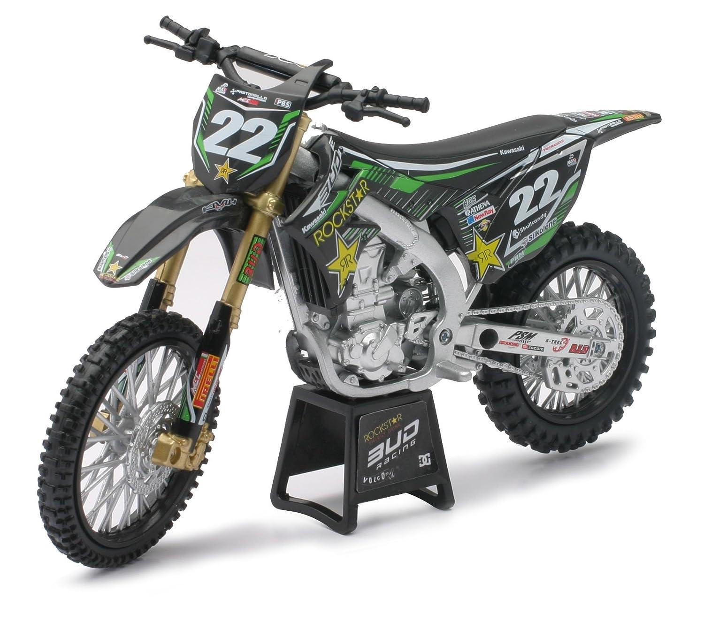 NEW RAY 57713/1 12/Kawasaki//Bud Racing