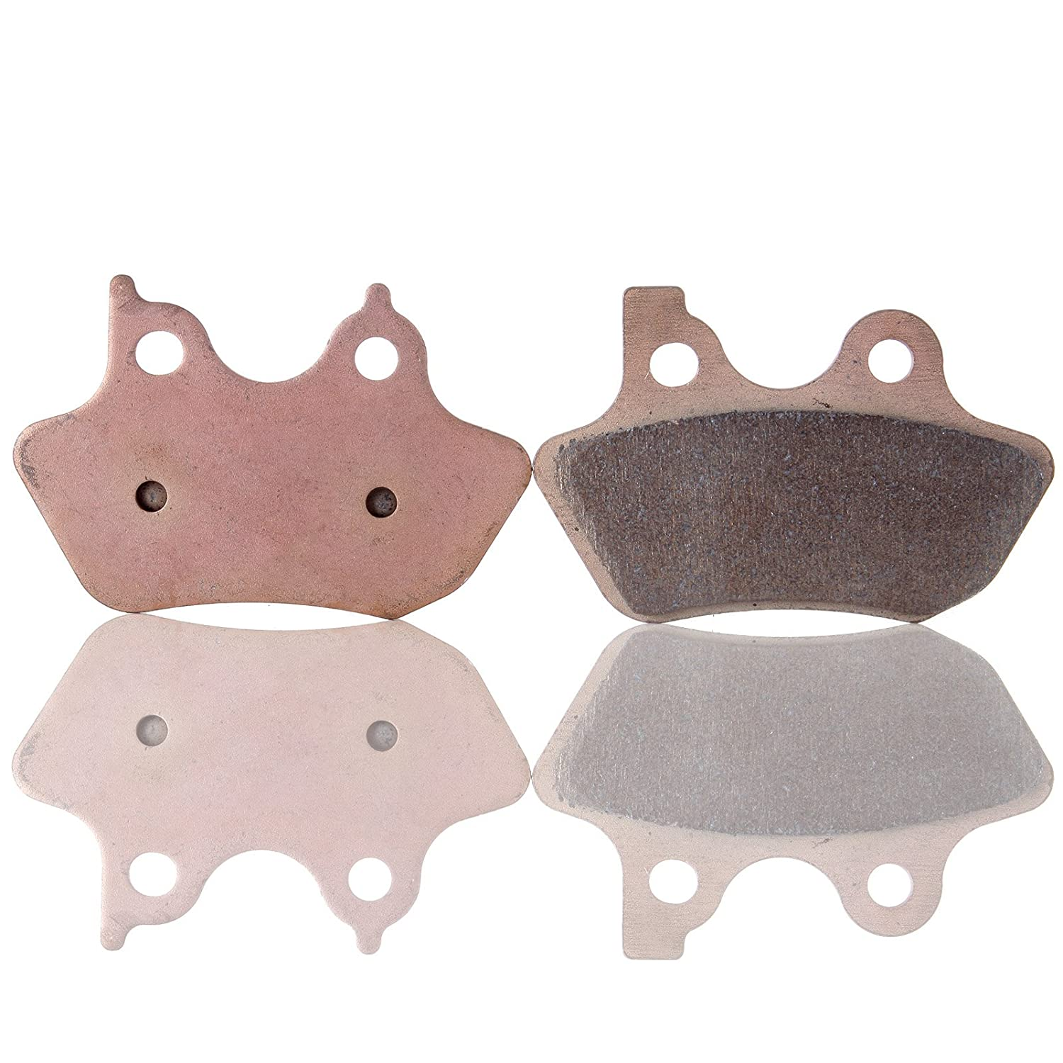 ECCPP FA400 Brake Pads Rear Sintered Replacement Brake Pads Kits Fit for Harley-Davidson Dyna Fatboy Heritage Softail Night Train Softail Sportster 883 FA400 052909-5211-1406451