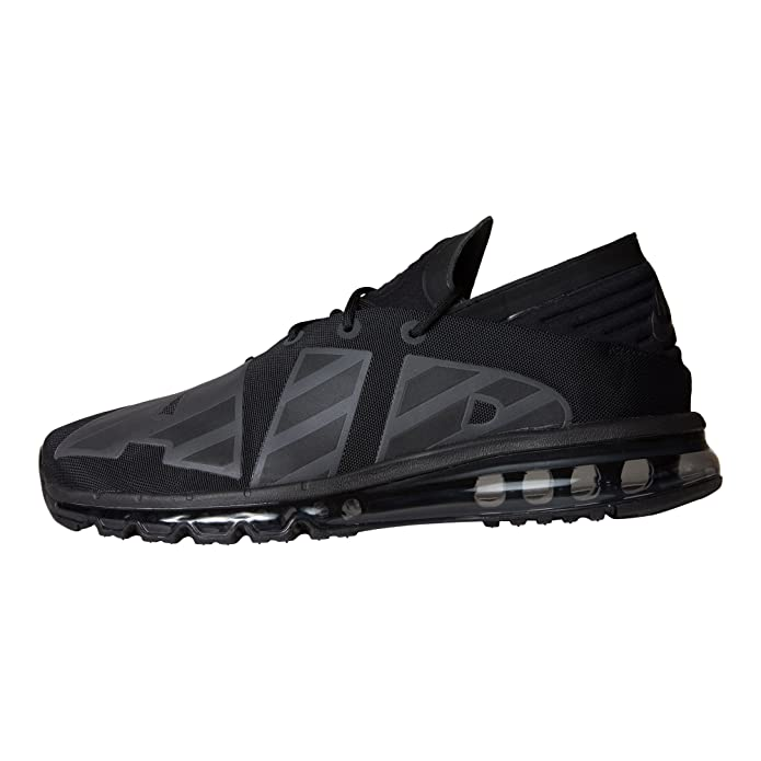 Nike Mens Air Max Flair Low Top Lace Up Running, BlackAnthracite, Size 10.5 Vav
