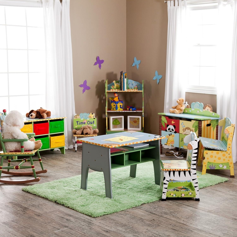 Kids wooden toy chest sunny safari - Kids Wooden Toy Chest Sunny Safari 38