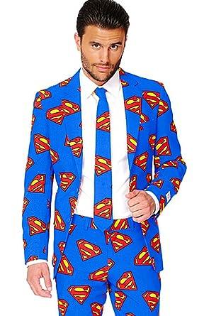 Hombres Superman Opposuit DC Comics Licencia Oficial Suit Todas ...