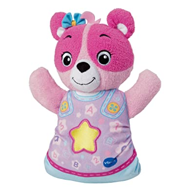 VTech Soothing Songs Bear, Pink: Toys & Games