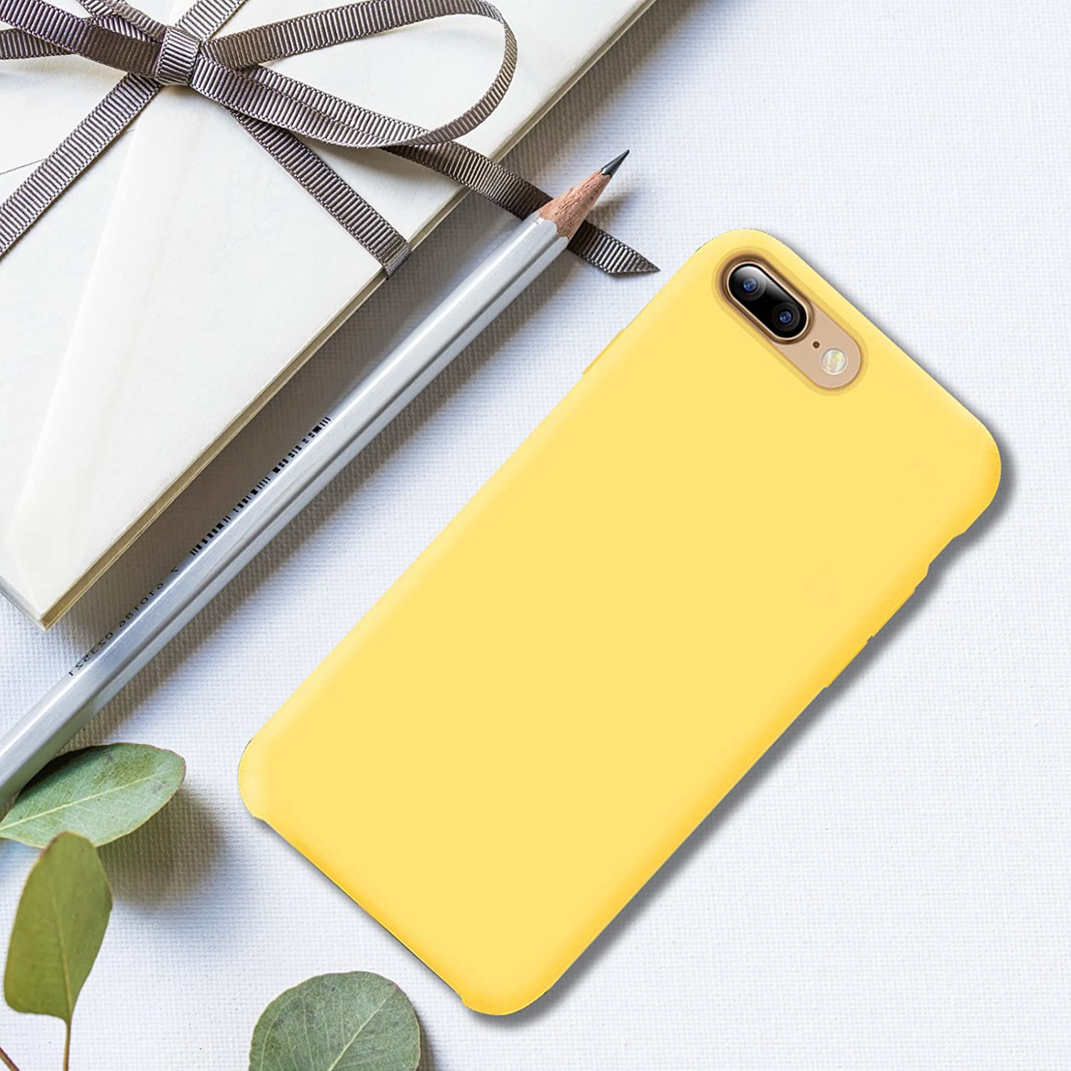 Lightweight Soft Silicone for iPhone 7 Plus/& 8 Plus 5.5 Inch Case