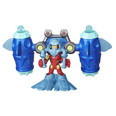 Playskool Heroes Super Hero Adventures Deep Sea Iron Man: Toys & Games