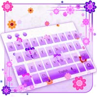 Pink Flowers Keyboard Theme