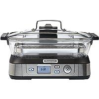 Cuisinart STM1000E Cocina al Vapor, 1800 W, 5 litros, Aluminio, Acero Inoxidable