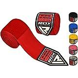 RDX MMA Bandes Élastiqué Mains Intérieur Gants Mitaine Boxe Arts Martiaux 4,5 Mètres Bandage Poignet Entrainement Muay Thai