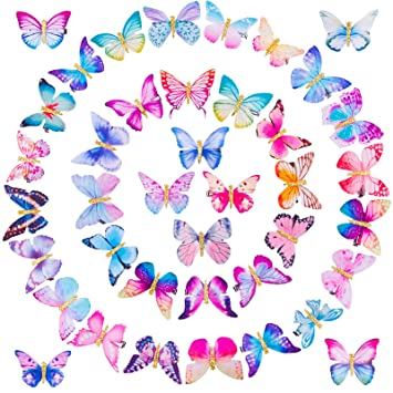 90s Butterfly Hair Clips Set Of 12