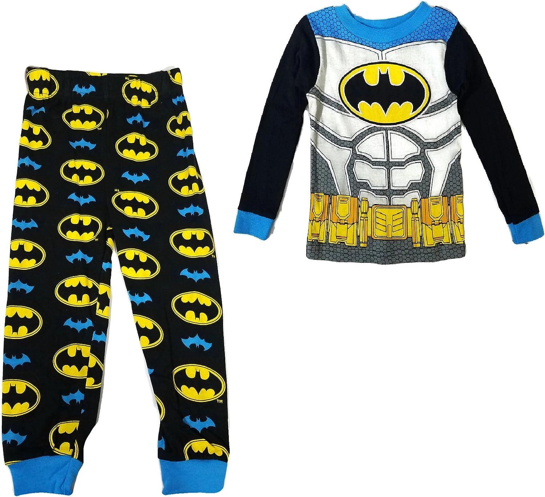 DC Comics Batman Boys Long Pyjamas Pjs