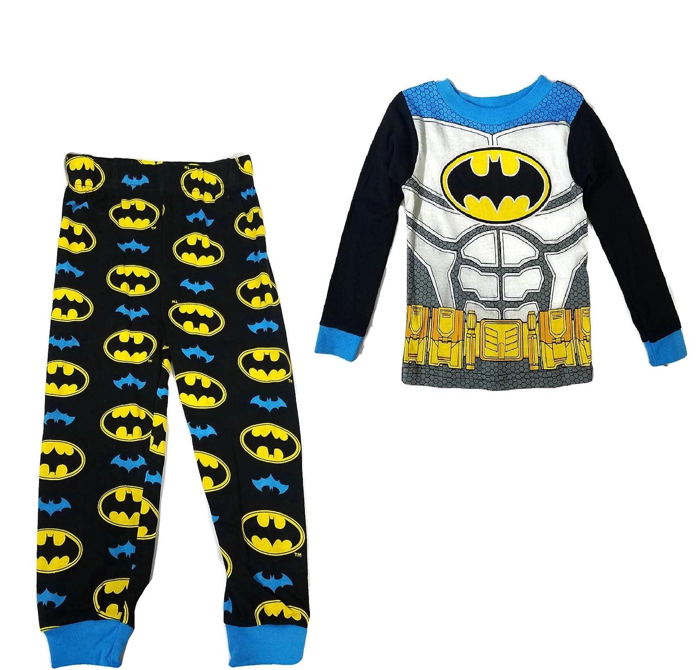 AME Sleepwear Little Boys/' Black Batman Pajamas with Blue Cape