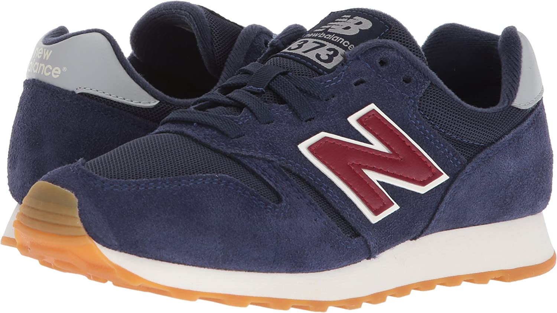 New Balance Herren 373 Fitnessschuhe, Blau Navy Red, 44.5 EU ...