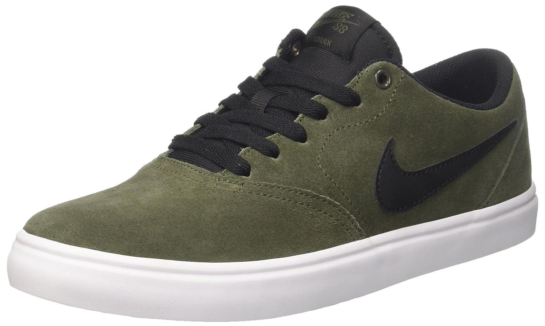 Nike SB Check Solar, Zapatillas de Skateboard para Hombre 47.5 EU|Verde (Cargo Khaki/Black)