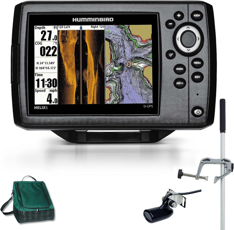 Humminbird Side Imaging GPS Helix 5 x SI Echolot Combo bertronic ...