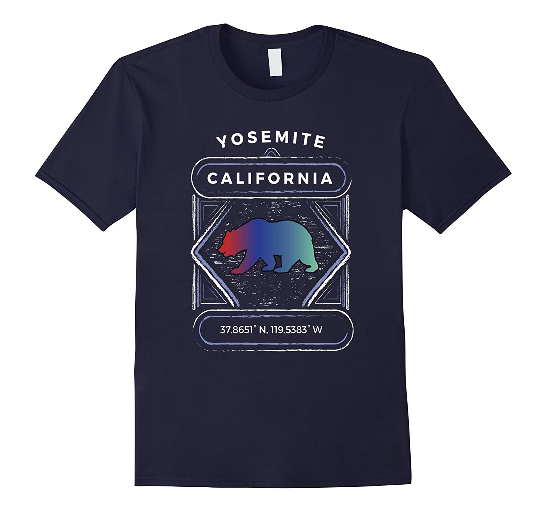 Yosemite National Park Tshirt Summer Mountain Shirt Men Kids-4LVS