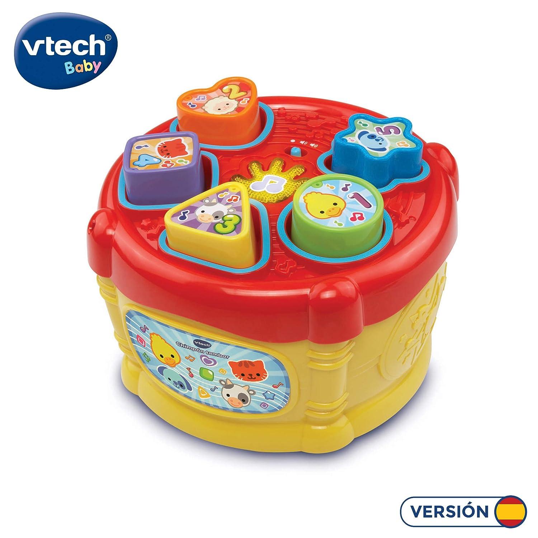 VTech-80-166122 Bola Interactiva con Canciones Frases y melodias de Tela 24.9 x 14.0 x 8.9 3480-166122