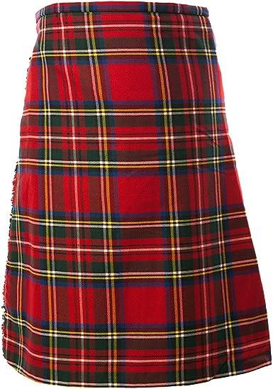 TARTAN TWEEDS Royal Stewart de Cuadros Escoceses para Falda