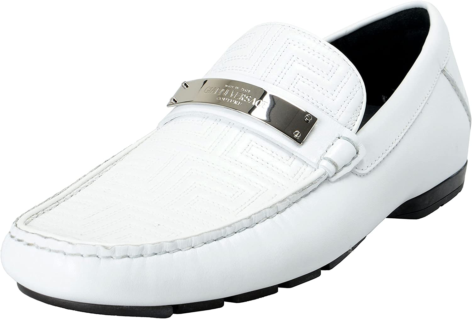 White Moccasins Loafers Slip On Shoes