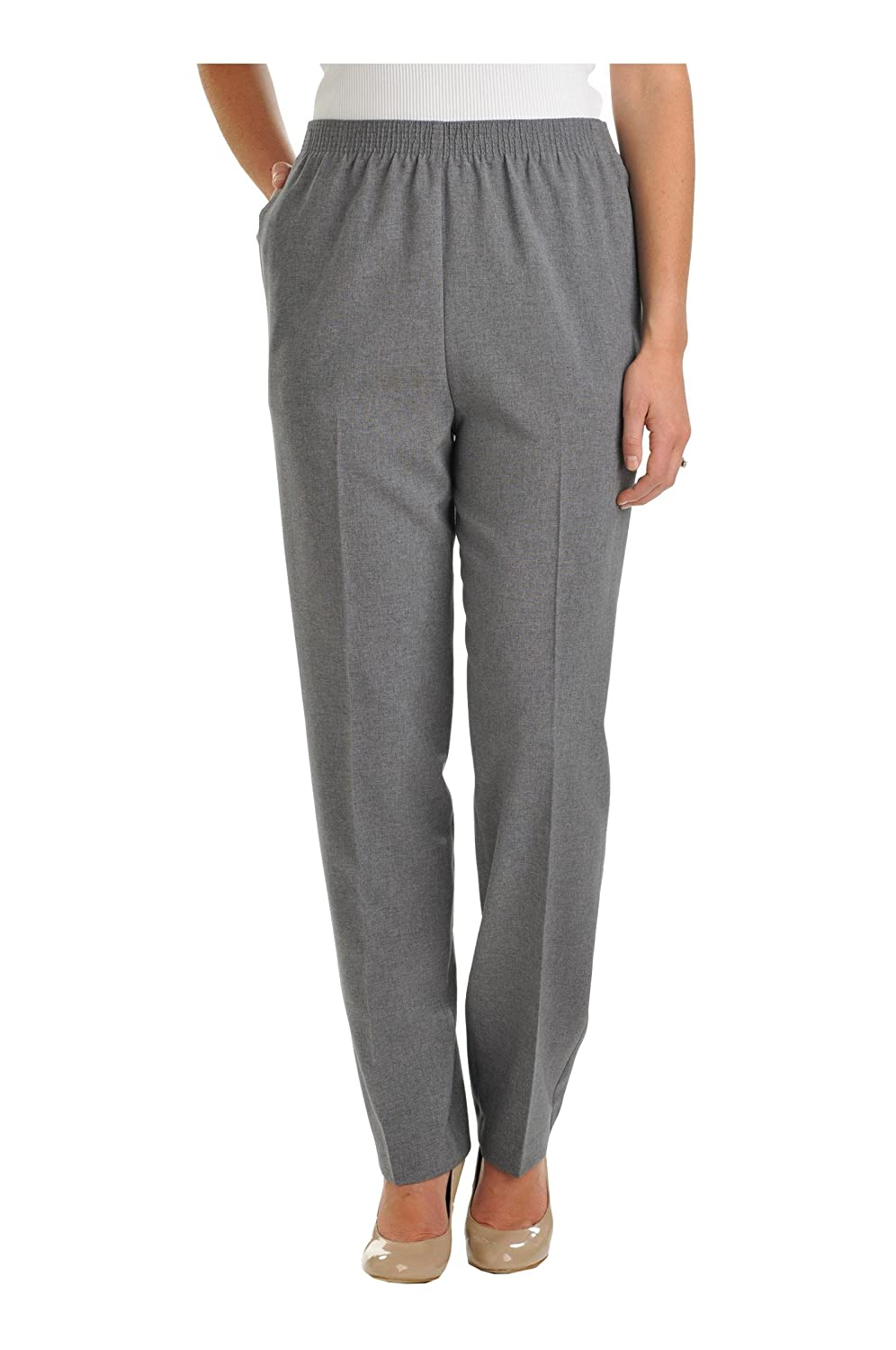 Nygard Women's Regular Alia Heather Feathertouch Pull-On Pant 51120102